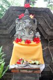 Balinese ganesh. A statue of the hindus god ganesh at bali island in indonesia Stock Photography