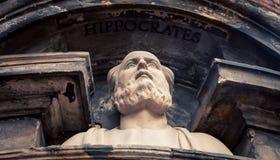 Statue of Hippocrates Stock Photo