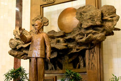Statue historique de Soldier du Chef du Vietnam Photographie stock