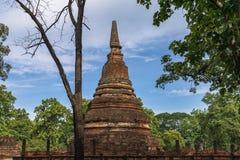 Statue in historischem Park KamphaengPhet Lizenzfreie Stockfotos