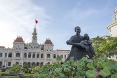 Statue of Ho Chi Minh Stock Photos