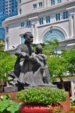 Statue of Ho Chi Minh Royalty Free Stock Image