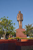 The statue of Ho Chi Minh communist revolutionary leader. In Can Tho, Vietnam Royalty Free Stock Photos