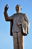 The statue of Ho Chi Minh communist revolutionary leader Royalty Free Stock Photo
