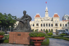 Statue Ho Chi Minh Stock Image