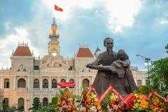 Statue of Ho Chi Minh Stock Photo