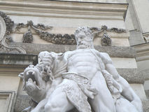 Statue on hofburg - vienna Royalty Free Stock Image