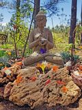 Statue from the holy saint Dakshinamurti Stock Photo