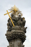 Statue of the Holy Trinity, Budapest, Hungary Stock Photos