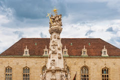 Statue of the Holy Trinity  in Budapest Hungary Stock Photo
