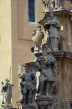 Statue of the Holy Trinity, Veszprem, Hungary Stock Photos