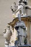 Statue of the Holy Trinity, Veszprem, Hungary royalty free stock photography