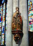 Statue of the Holy Ursula Royalty Free Stock Photos