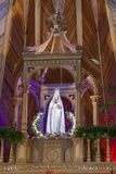 Statue of the Holy Virgin - Interior of Krzeptowki Stock Photo