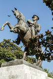 Statue of Honor Dedicated to the Landing of Ataturk in Samsun Royalty Free Stock Images