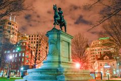 Winfield Scott Hancock Statue - Washington DC Stock Photography