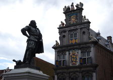 Statue in Hoorn, The Netherlands Stock Image