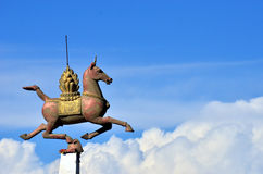Statue horse Stock Image