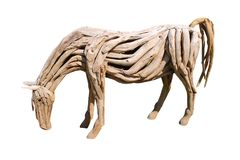 Statue of a Horse. Stock Images