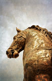 Statue of the horse of Marco Aurelio Royalty Free Stock Photography