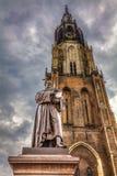 Statue of Hugo Grotius Royalty Free Stock Photography