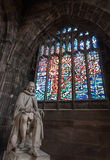 Statue of Humphrey Chetham, Manchester Cathedral Stock Photos