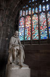 Statue of Humphrey Chetham, Manchester Cathedral Royalty Free Stock Photography