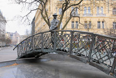 Statue of Hungarian prime minister Imre Nagy. Executed by communist at 1956, Budapest Royalty Free Stock Image