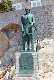 Statue of Hydra island - Greece Stock Images