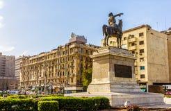 Statue of Ibrahim Pasha in Cairo Stock Photography