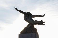 Statue icarus Stock Photo