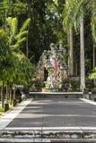 Statue im Affewald auf Bali Lizenzfreie Stockbilder