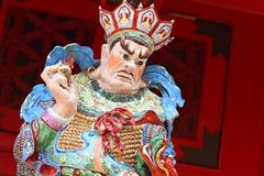Statue im chinesischen Tempel Lizenzfreie Stockfotos