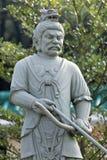 Statue im chinesischen Tempel Stockbilder