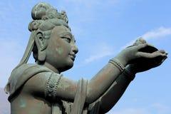 Statue im chinesischen Tempel Stockfotos