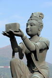 Statue im chinesischen Tempel Stockfoto