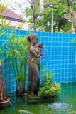 Statue im Hotel Lizenzfreie Stockfotos