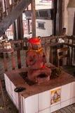 Statue im Kathmandu Lizenzfreie Stockfotos