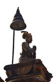 Statue image King Ranjit Malla in Bhaktapur Durbar Square Stock Photos