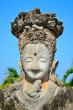 Statue Buddhism in thailand. Statue imagery kaewku temple in udonthanee province thailand Stock Images