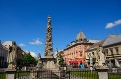 Statue of Immaculata, Kosice, Slovakia Stock Photography