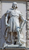 Statue on the Imperial Palace in Vienna Austria Stock Image