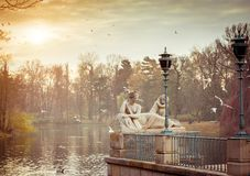 Free Statue In Lazienki Park Warsaw Stock Photos - 47083993