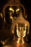 Statue In The Temple Royalty Free Stock Images