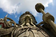 Statue In The Wat Pho Temple. Bangkok , Thailand . Stock Photos
