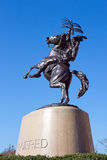 Statue inconquise d'université de l'Etat de la Floride Image libre de droits