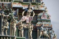 Statue indù dei dei Fotografia Stock