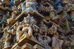 Statue indù nello Sri Lanka Immagini Stock Libere da Diritti