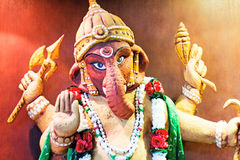 Statue of the Indian deity Ganesh. Royalty Free Stock Photography