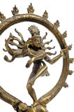 Statue of indian hindu god dancing Shiva Nataraja Royalty Free Stock Images
